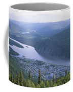 Dawson City And The Yukon River Coffee Mug