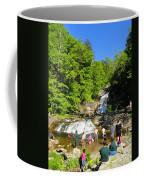 Day At Kent Falls State Park Coffee Mug