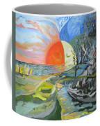 Day Meets Night Coffee Mug