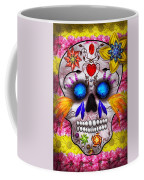 Day Of The Dead - Death Mask Coffee Mug