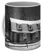 Days Of Yore Log Cabin Coffee Mug