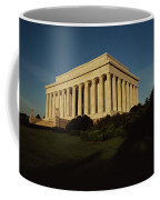 Daytime View Of The Lincoln Memorial Coffee Mug