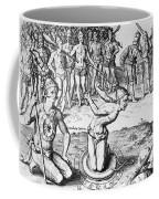 De Bry: Magician, 1591 Coffee Mug