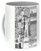 De Bry: Secoton Village Coffee Mug