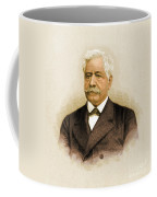 De Lesseps, French Diplomat, Suez Canal Coffee Mug