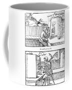 De Re Metallica, Cupellation Furnaces Coffee Mug