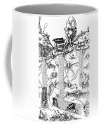 De Re Metallica, Mine Shafts, 16th Coffee Mug by Science Source