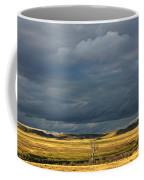 Dead Tree At Dusk With Storm Clouds Coffee Mug