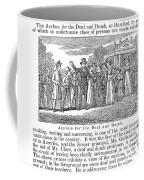 Deaf And Dumb School, 1842 Coffee Mug