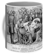Death Of Garfield, 1881 Coffee Mug