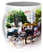 Decatur Street At Jackson Square Coffee Mug by Bill Cannon