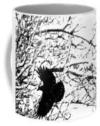 December Raven Coffee Mug