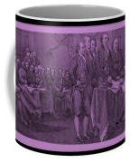 Declaration Of Independence In Pink Coffee Mug