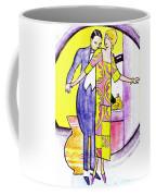 Deco Couple With Vase Coffee Mug