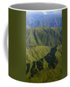 Deep Canyons Drain To Rio Apurimac Coffee Mug