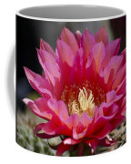 Deep Pink Cactus Flower Coffee Mug