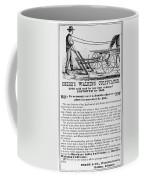Deere Plow, 1869 Coffee Mug