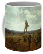 Defiance - Inviting A Shot Before Petersburg Coffee Mug by Winslow Homer