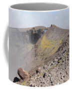 Degassing North Crater With Fumarolic Coffee Mug