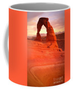 Delicate Arch At Sunset Coffee Mug