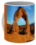 Delicate Arch Portrait Coffee Mug