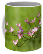 Delicate Pink Dogwood Blossoms Coffee Mug