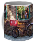 Delivery Bicycle Greenwich Village Coffee Mug