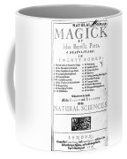Della Portas Natural Magick, 1658 Coffee Mug