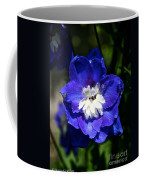 Delphinium Face Coffee Mug