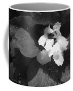 Delphinium From The Magic Fountains Hybrid Named Blue With White Bee Coffee Mug