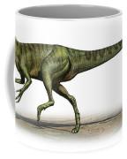 Deltadromeus Agilis, A Prehistoric Era Coffee Mug