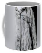 Denim Jacket Coffee Mug by Joana Kruse