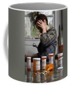 Depression And Addiction Coffee Mug by Photo Researchers, Inc.