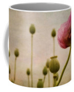 Depth Of Poppy Field Coffee Mug by Priska Wettstein