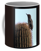 Desert Bird Atop Saguaro Coffee Mug