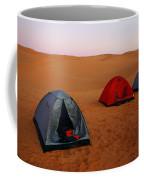Desert Camping Coffee Mug