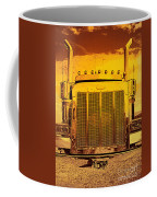 Desert Hauler Abstract Coffee Mug