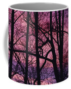 Detail Of Bare Trees Silhouetted Coffee Mug