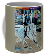 Determination - Horse And Rider - Horseshow Painting Coffee Mug