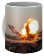 Detonation Of A Weapons Cache Coffee Mug