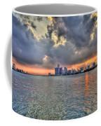 Detroit Sunset  Coffee Mug