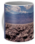 Devil's Golf Course At Death Valley Coffee Mug