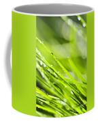 Dewy Green Grass  Coffee Mug