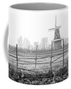 Dezwaan Windmill In Holland Michigan During November Coffee Mug