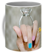 Diamond Ring Coffee Mug