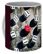 Dice Coffee Mug by Joana Kruse