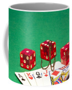 Dice Red Cards Hook 1 B Coffee Mug