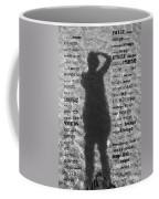 Diction Coffee Mug by Betsy Knapp
