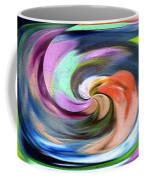 Digital Swirl Of Color 2001 Coffee Mug