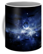 Digitally Generated Image Of A Planet Coffee Mug